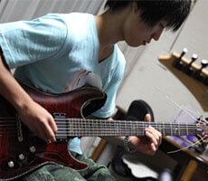 エレキギター レッスンの様子1
