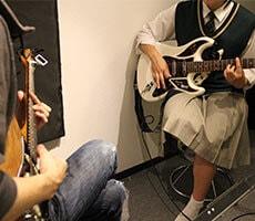 エレキギター レッスンの様子2