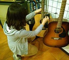 ビギナーギター レッスンの様子3