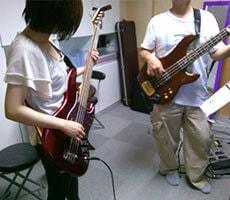 エレキ/アコースティック ベース レッスンの様子2